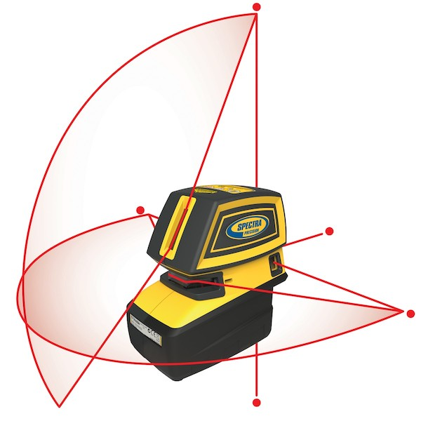 LT52R Point & Line Laser Tool