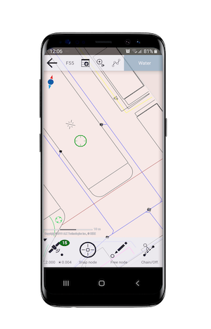 Penmap on mobile device