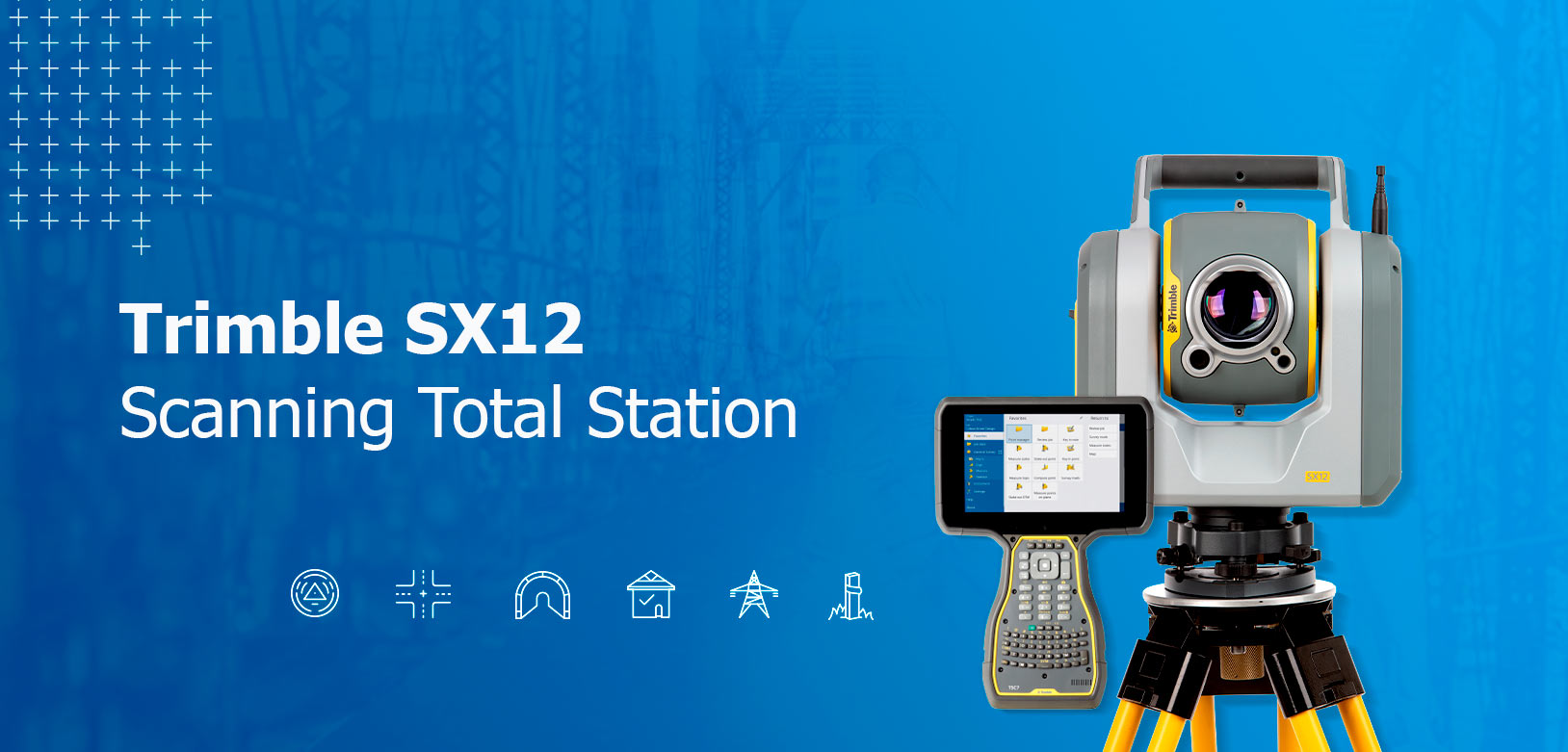 Trimble SX12 Scanning Total Station